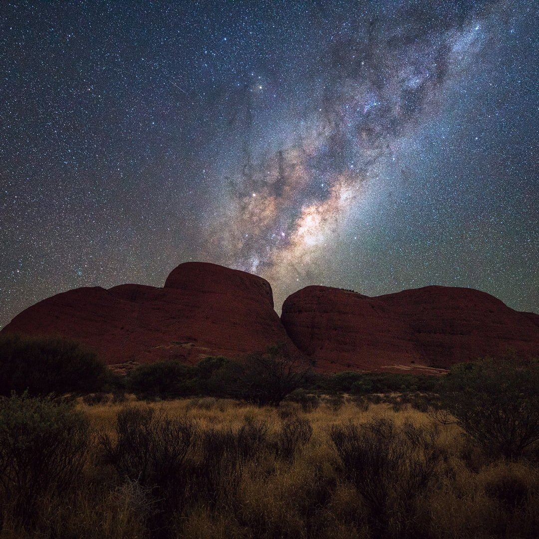Astrophotography workshop at Kata Tjuta