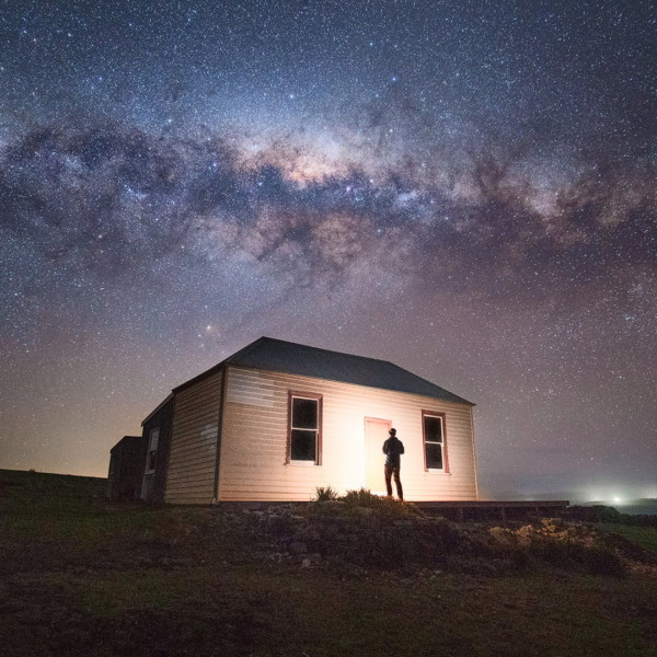 Astrophotography workshop on Maria Island